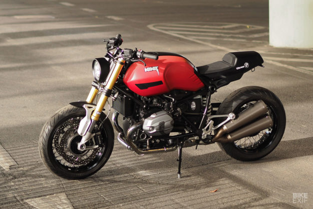 BMW R nineT kit by JvB Moto and Kedo