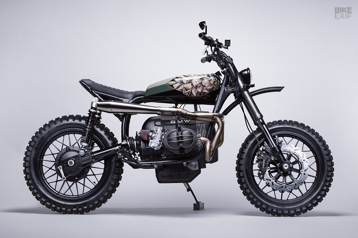 BMW R65 scrambler custom by Diamond Atelier