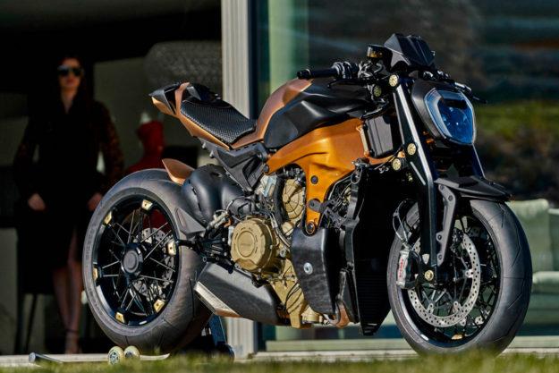 Ducati Panigale custom by Officine GP Design