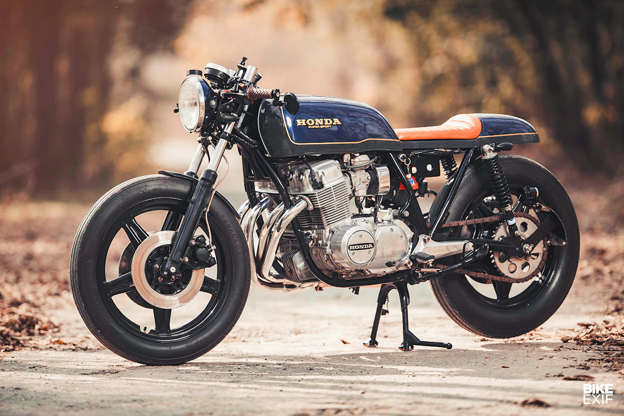 Honda Cafe Racer For Sale >> This Cb750 Cafe Racer Roams The Capital Of Pakistan Bike Exif