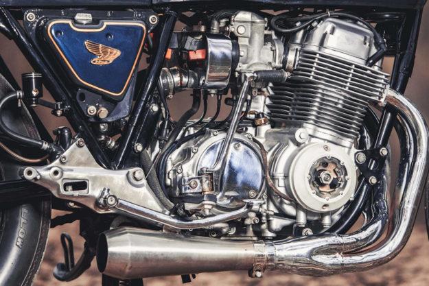 1977 Honda CB750 Super Sport cafe racer