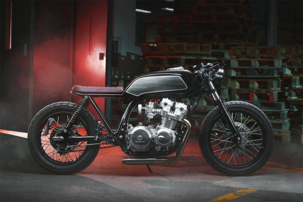 Honda CB750 Four by Thracian Custom Bikes