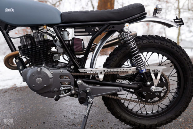 Turning the CB250 RS into a vintage-style Honda trail bike