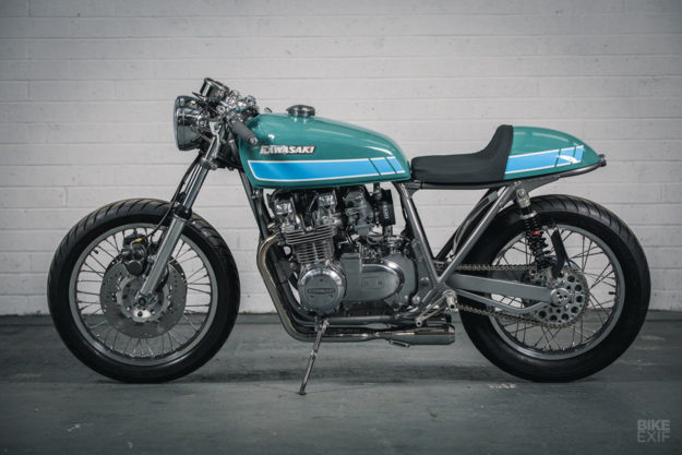 Kawasaki KZ650 cafe racer by Foundry Motorcycle