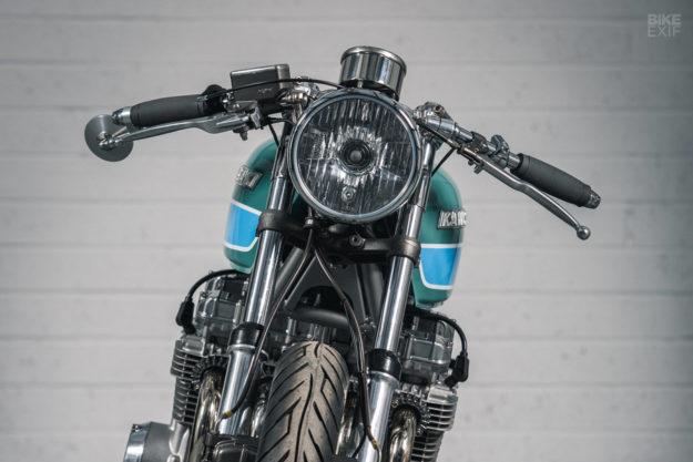 Kawasaki KZ650 cafe racer by Foundry Motorcycle