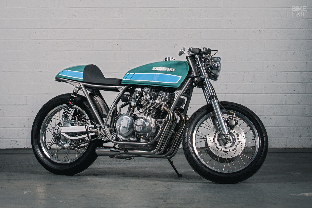 Kawasaki KZ750 cafe racer by Foundry Motorcycle