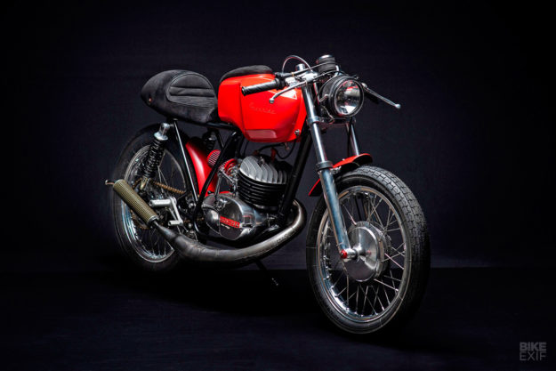 Montesa Cota 247 cafe racer conversion by Freeride Motos Racing