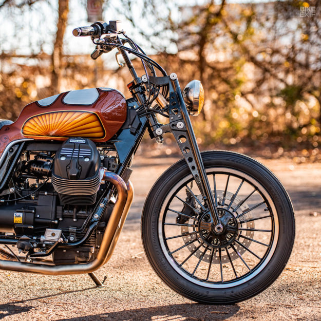 Moto Guzzi V9 Roamer custom by Revival Cycles