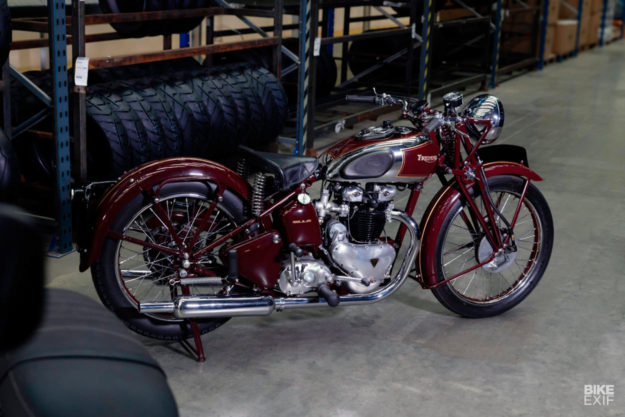 The original 1938 Triumph Speed Twin
