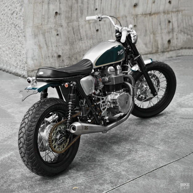 Sleeper: A subtle Triumph Bonneville from 2LOUD
