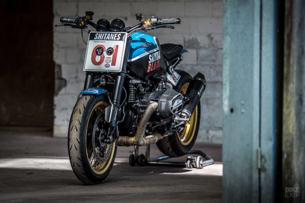 A 1980s-inspired BMW R nineT by VTR Customs