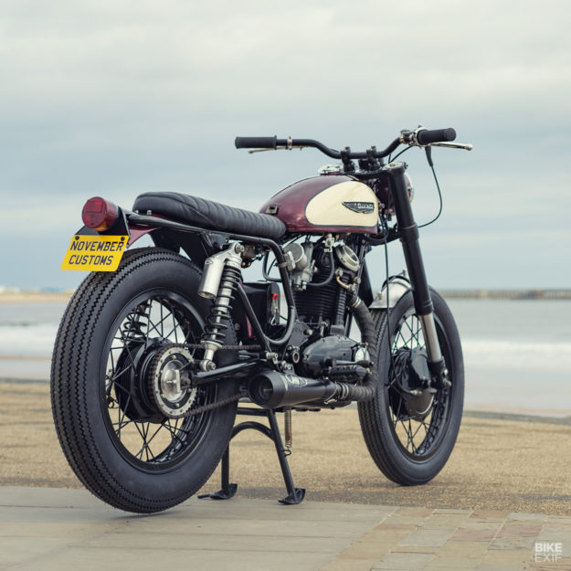 1974 Ducati Scrambler 350 restomod by November Customs