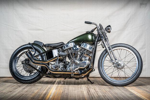 Brad Richard's 1962 Harley-Davidson FL