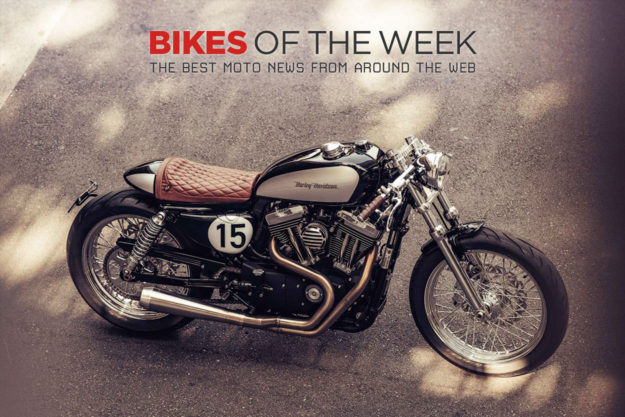The best cafe racers, classic and electric motorcycles of the week