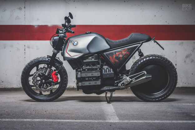 BMW K series custom built for Andrés Palop by Bolt Motor Co.