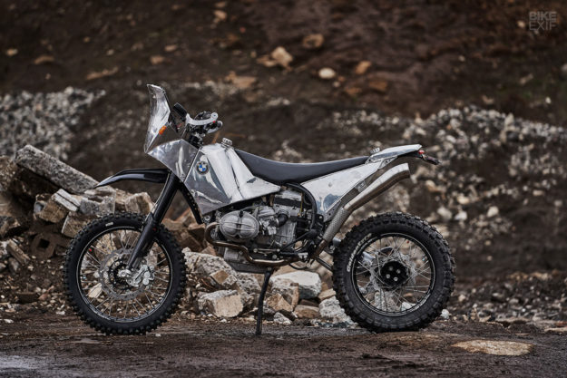 Custom BMW R100GS adventure bike