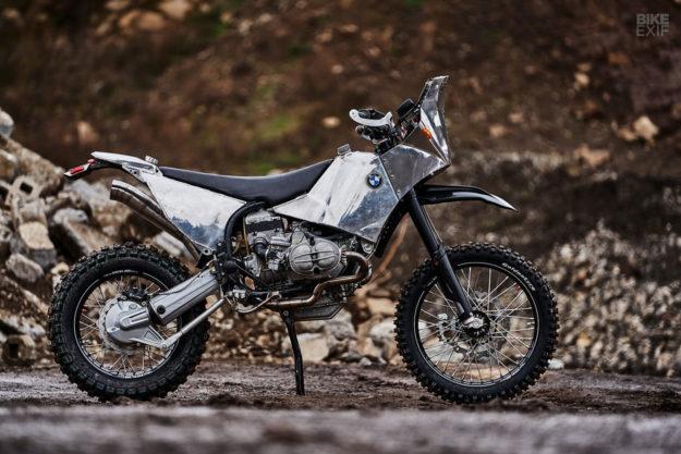 Custom BMW R100GS adventure bike