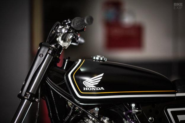 Custom Honda Dominator NX650 tracker by RC Dept