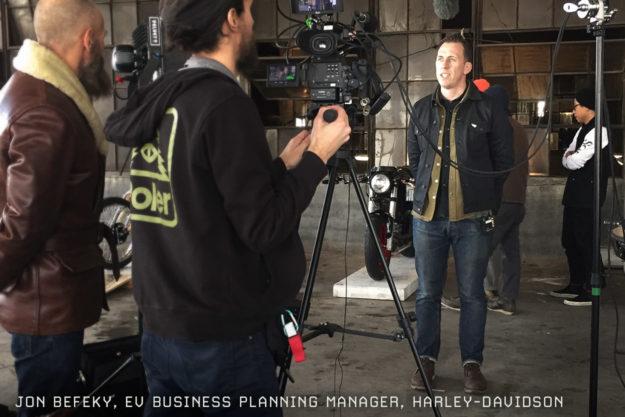 Jon Befeky, EV Business Planning Manager at Harley-Davidson