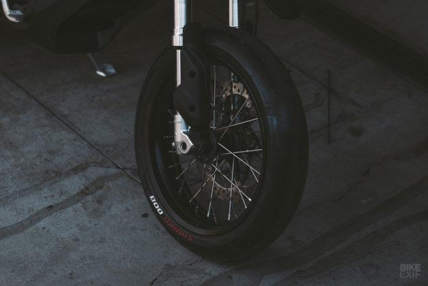 Custom Zero FXS electric motorcycle by Huge Moto