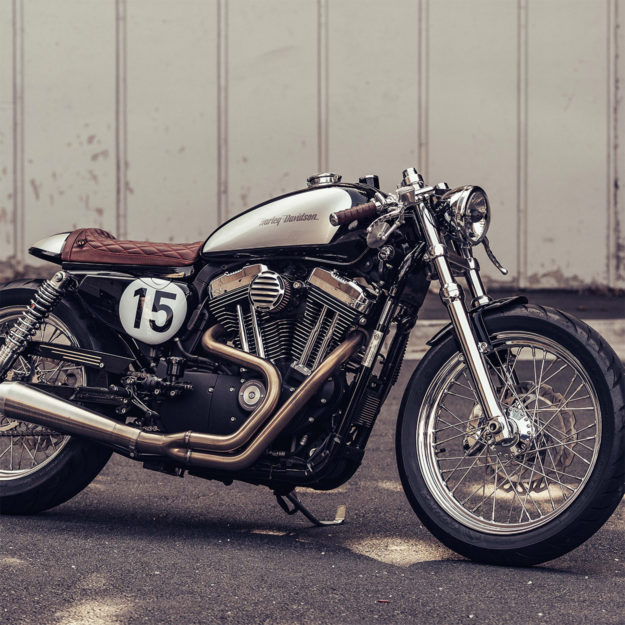 Sportster cafe racer by Deus ex Machina