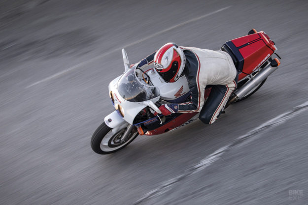 Soichiro's finest: A Honda RC30 VFR750R owned by the Italian motorcycle photographer Alessio Barbanti