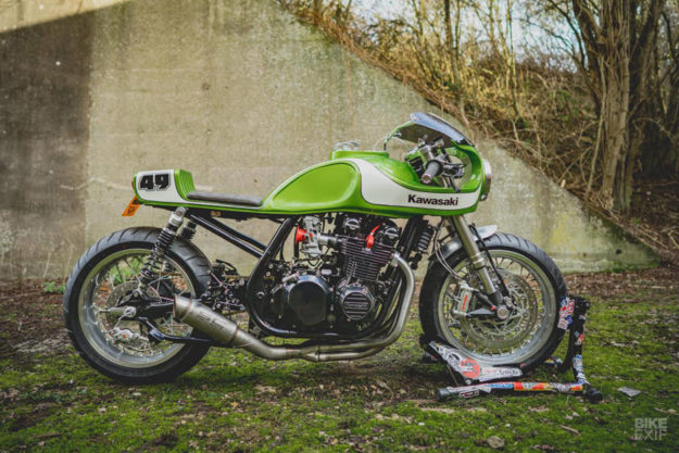 Kawasaki Zephyr 750 cafe racer by November Customs