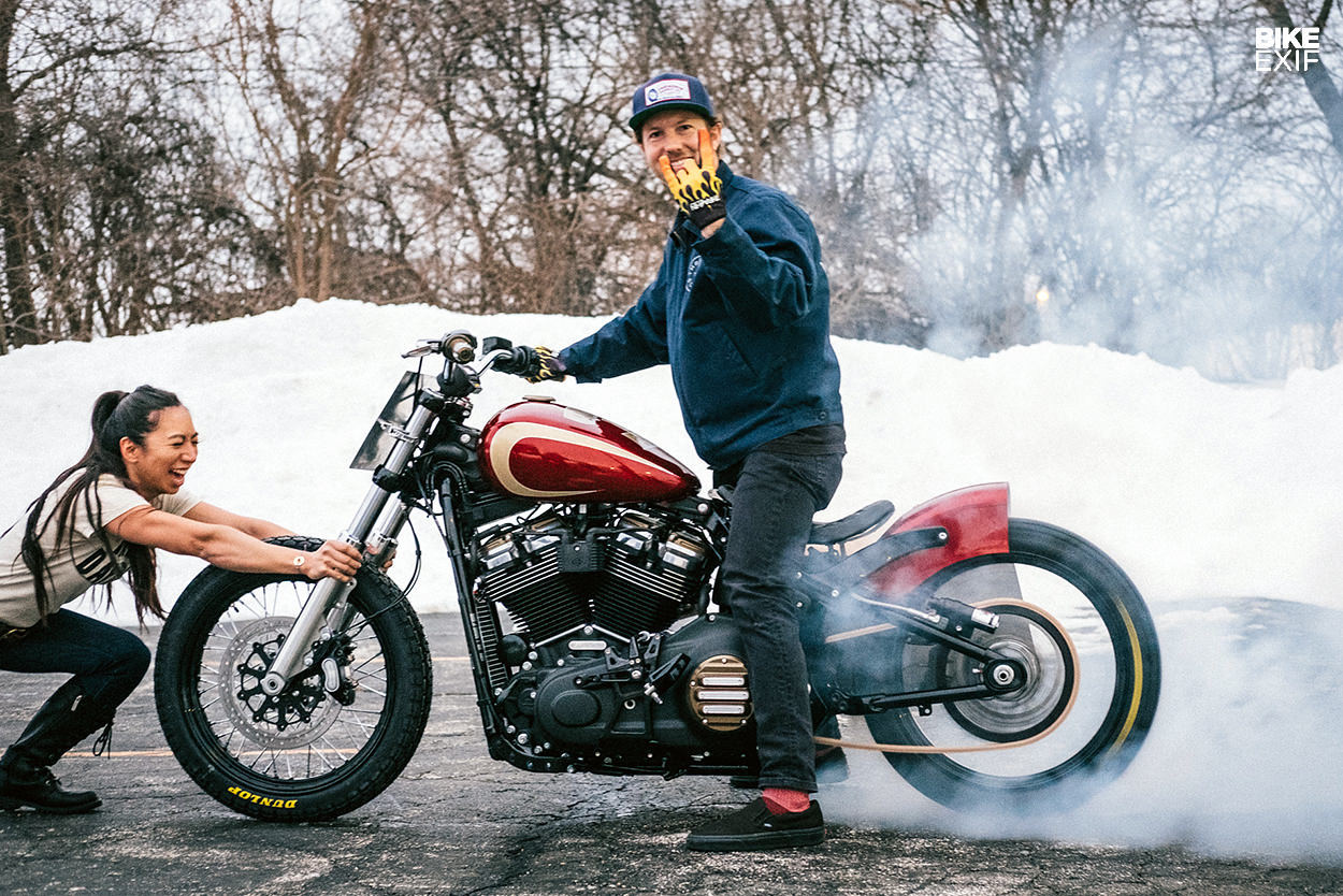 Building a Street Bob custom using Harley's rulebook | Bike EXIF