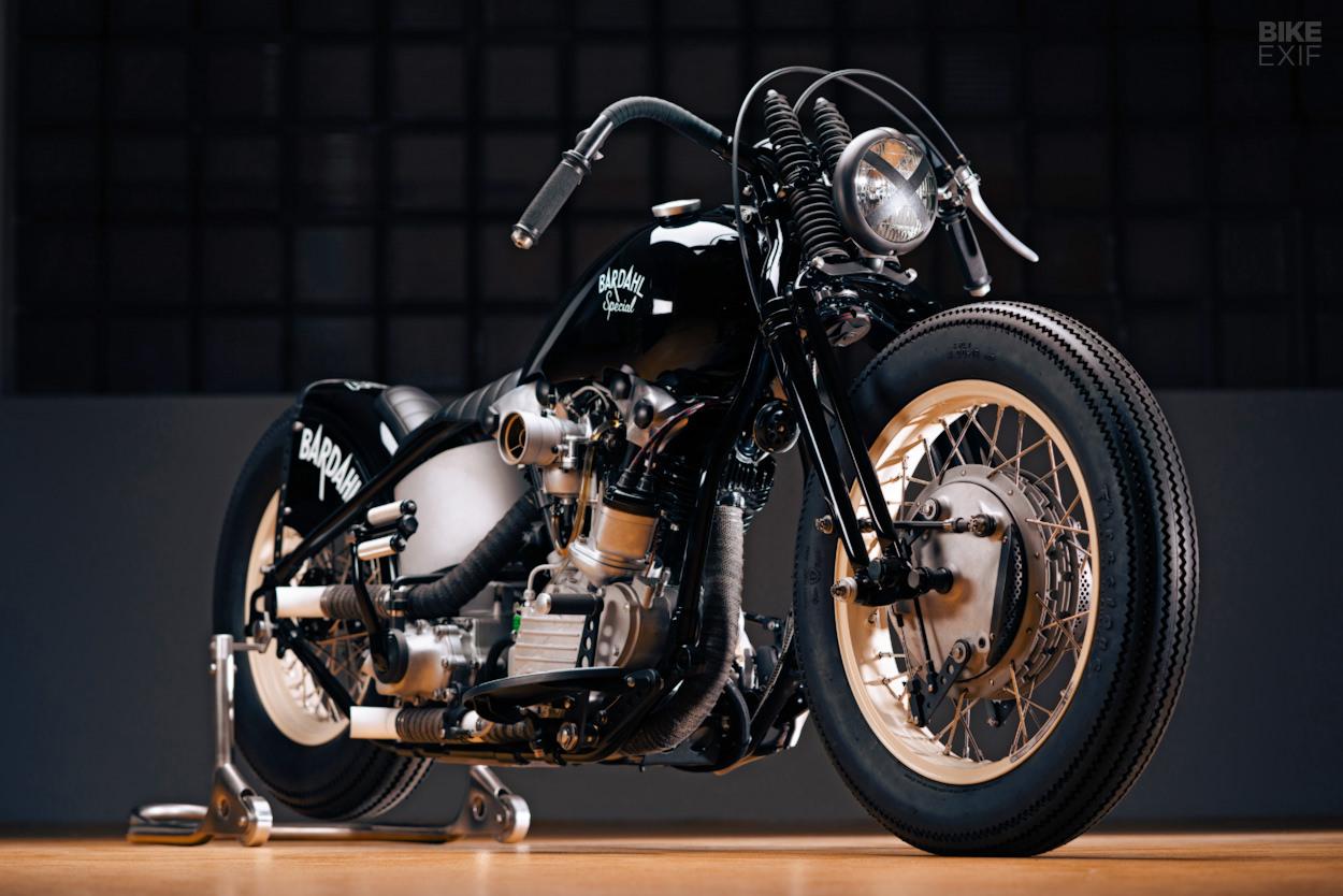 Bardahl Special: A '48 Harley bobber from Switzerland | Bike