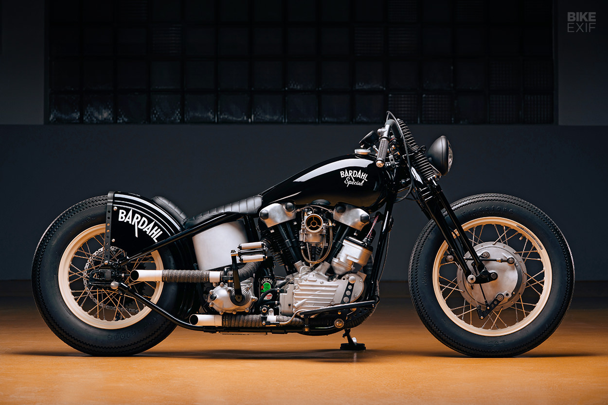 Bardahl Special: An astounding 48 Panhead from Switzerland