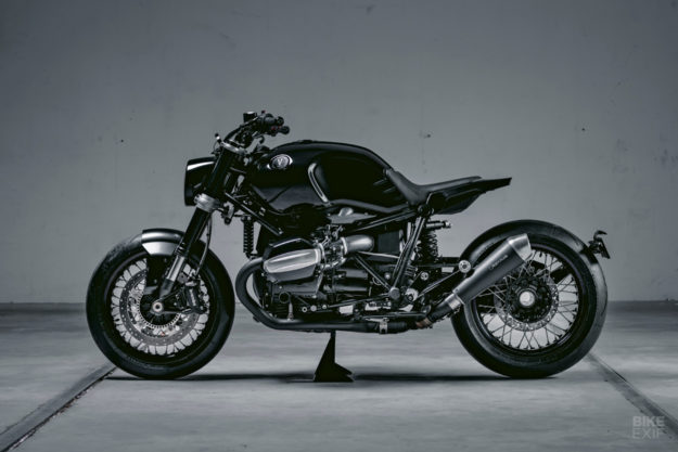 BMW R nineT custom with TÜV approval, by Vagabund Moto