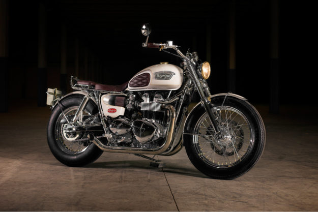 Custom Triumph Bonneville by Tamarit