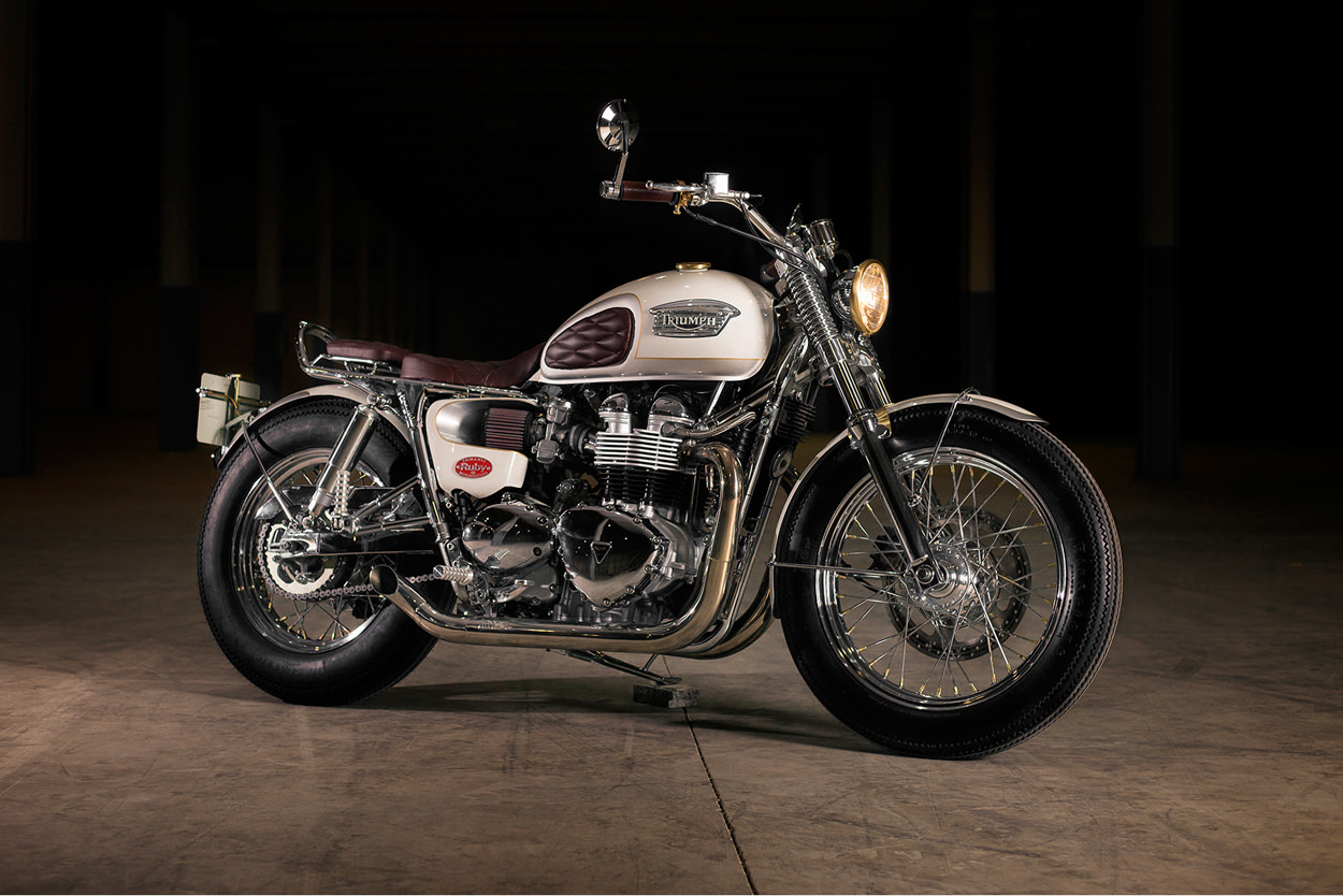 Triumph Bonneville By Tamarit The Best Designs And Art From The