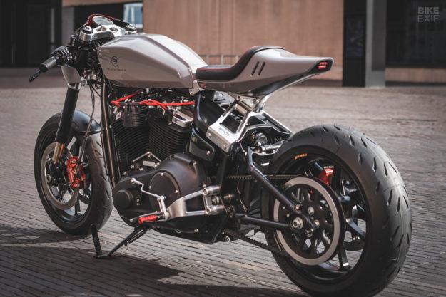 Harley-Davidson Fat Bob custom by Blacktrack Motors
