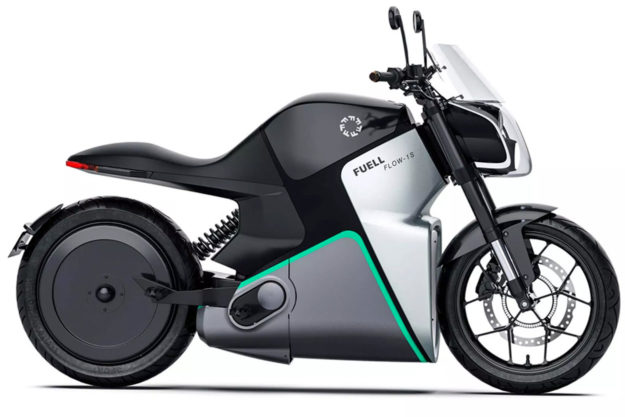 Fuell Flow electric motorcycle by Erik Buell