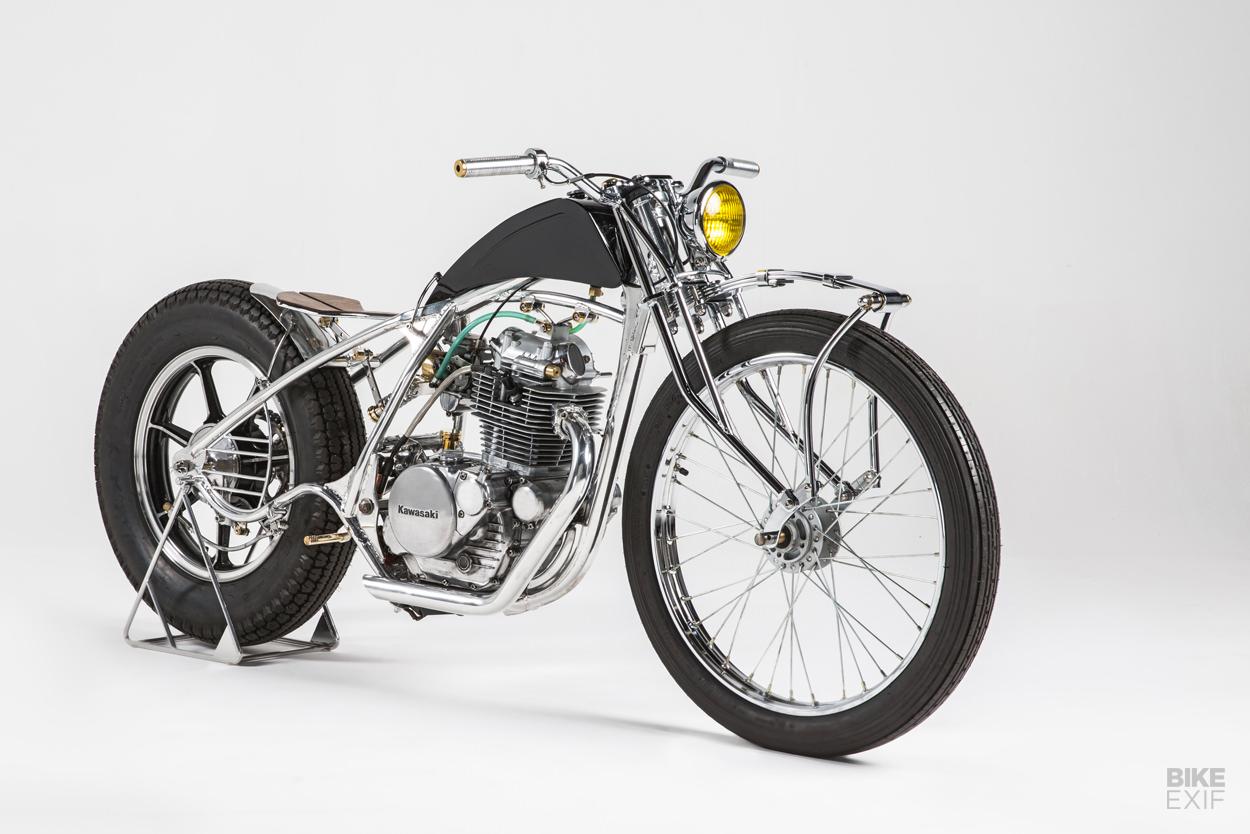 Kawasaki KZ250 bobber by Machine 1867 of Australia