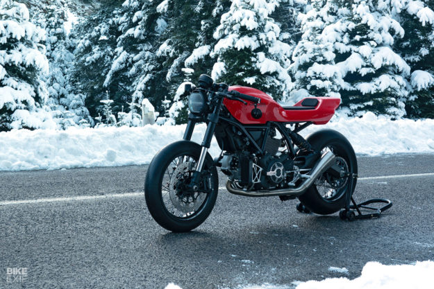 Scrambler Ducati custom by the Greek workshop Jigsaw