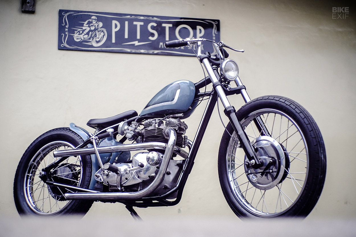 Pure and simple: A Bonneville T120 from Central Java | Bike EXIF