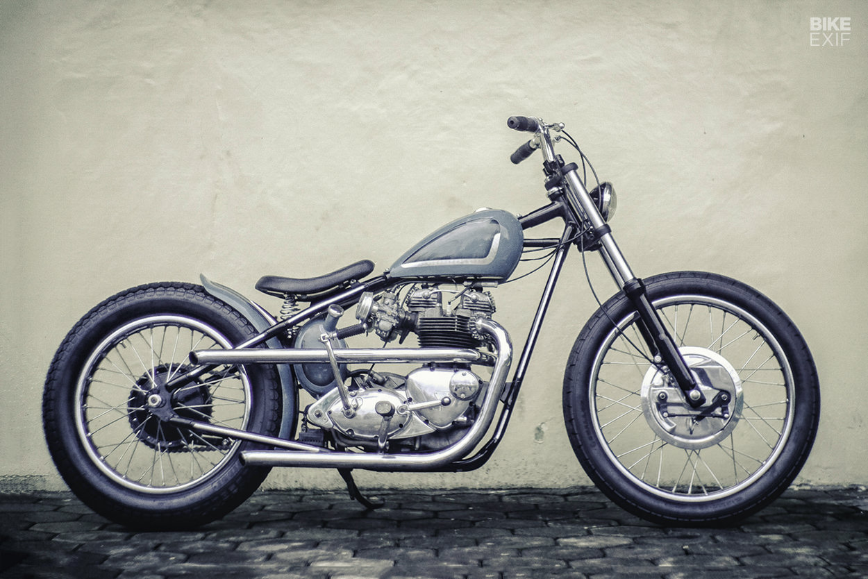 Pure And Simple A Bonneville T120 From Central Java Bike Exif