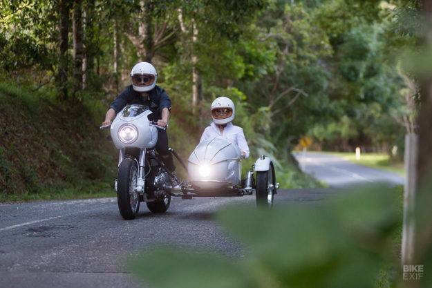 A Triumph sidecar built to deliver cold brew coffee | Bike EXIF