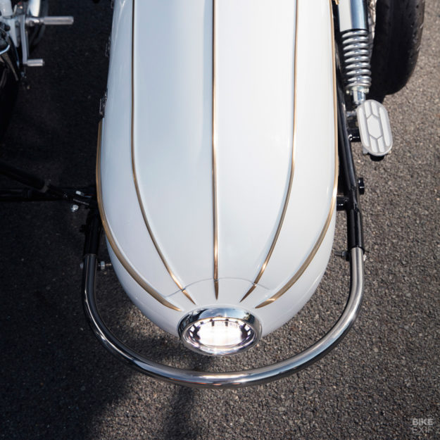 Triumph sidecar by Purpose Built Moto of Surfers Paradise