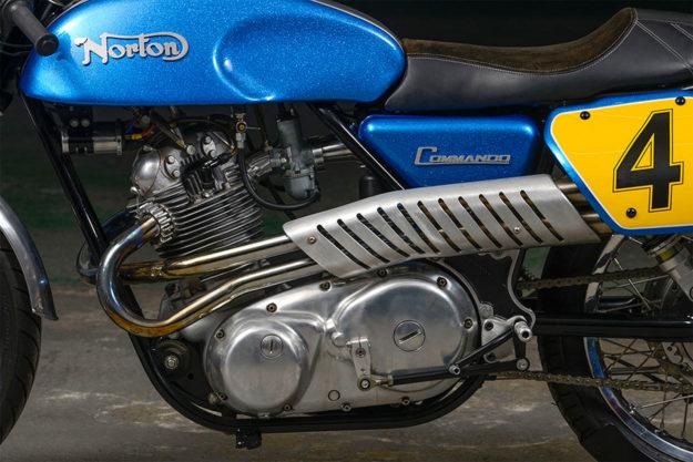 1975 Norton Commando 850 racing motorcycle