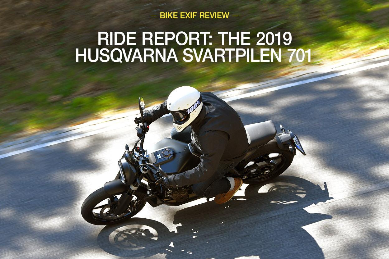 2019 Husqvarna Svartpilen 701 review