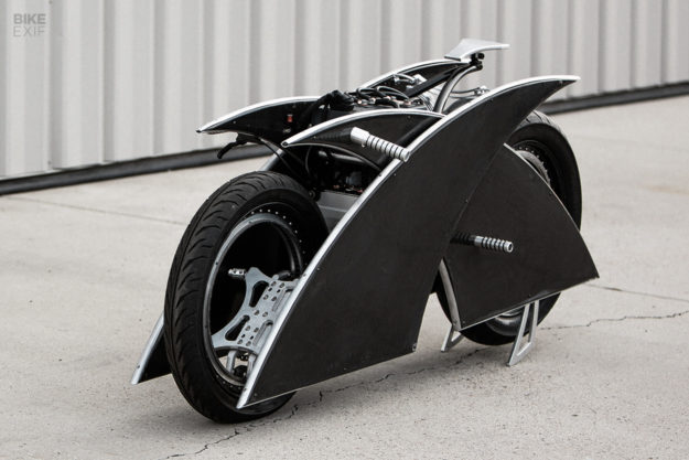 Racer-X: an electric motorcycle by Mark Atkinson
