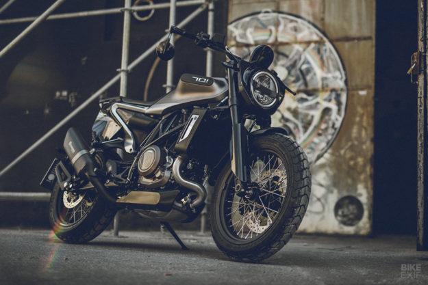 Husqvarna Svartpilen 701 Style limited edition