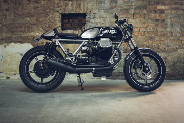 Moto Guzzi Le Mans by Side Rock Cycles
