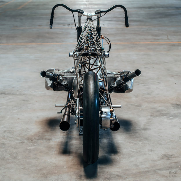 Revival's amazing Birdcage custom offers a preview of the new BMW boxer engine.