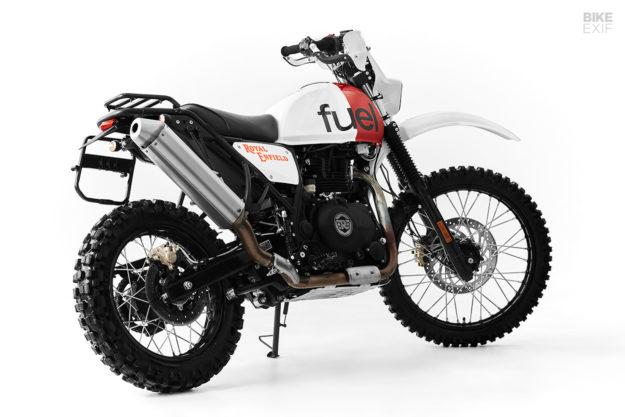 A Dakar-Inspired Royal Enfield Himalayan scrambler from Fuel