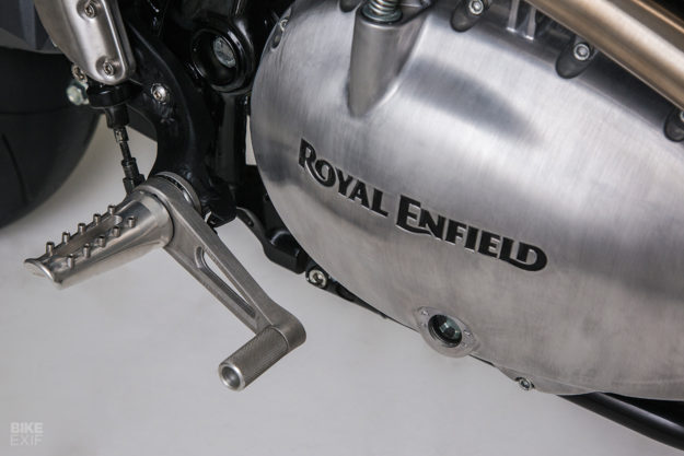 A Royal Enfield Interceptor custom from Thrive Motorcycle