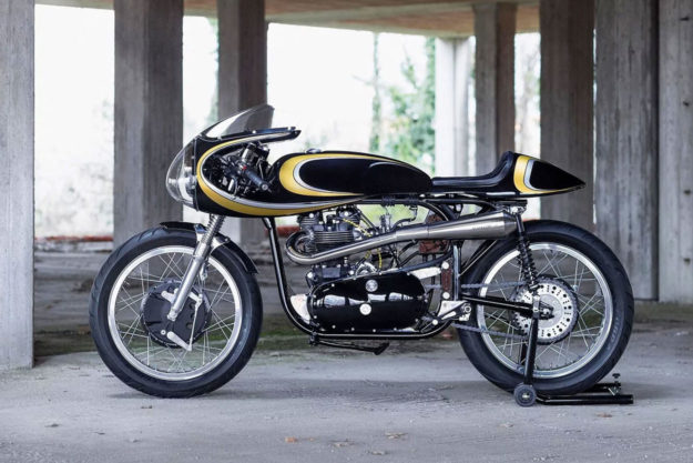 Triton cafe racer by Stile Italiano